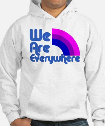 We Are Everywhere Bi Pride Hoodie