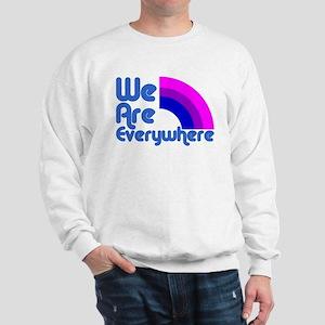 We Are Everywhere Bi Pride Sweatshirt