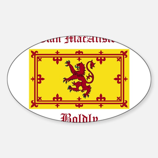 MacAlister Sticker (Oval)