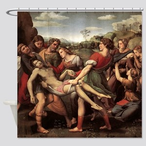 The Entombment Shower Curtain
