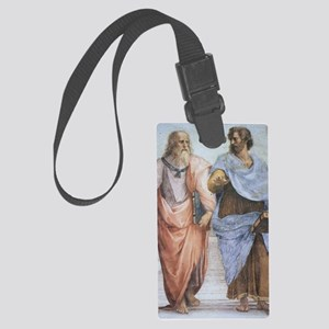 School of Athens (detail - Plato Large Luggage Tag