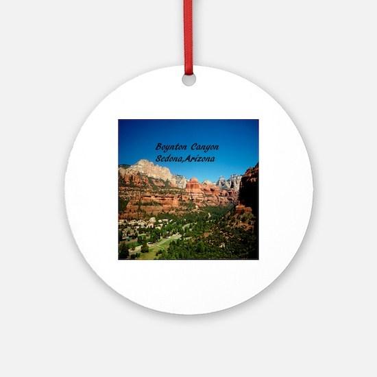 Boynton Canyon5.25x5.25 Round Ornament