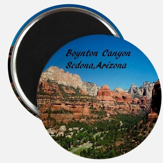Boynton Canyon11x11 Magnet