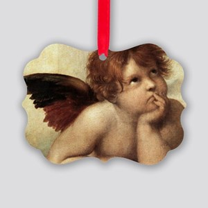 The Sistine Madonna (2nd detail) Picture Ornament