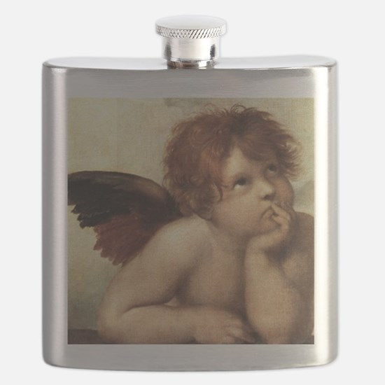 The Sistine Madonna (2nd detail) Flask