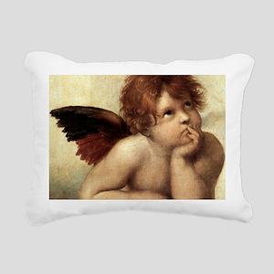 The Sistine Madonna (2nd Rectangular Canvas Pillow