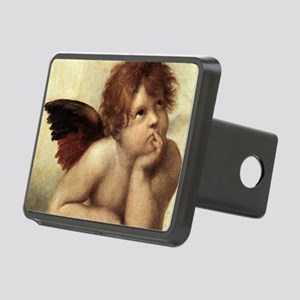 The Sistine Madonna (2nd d Rectangular Hitch Cover