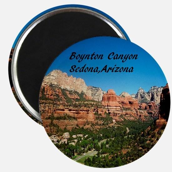 Boynton Canyon2.75x2.75 Magnet