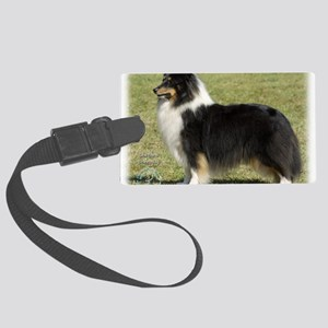 Shetland Sheepdog 9J088D-06 Large Luggage Tag