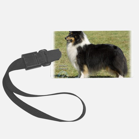 Shetland Sheepdog 9J088D-06 Luggage Tag