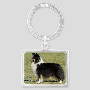 Shetland Sheepdog 9J088D-06 Landscape Keychain