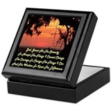 Alcoholics anonymous Square Keepsake Boxes