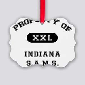 property_of_IndianaSAMS Picture Ornament