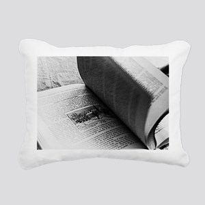 pagesofhistory9x12 Rectangular Canvas Pillow
