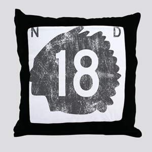 nd18 Throw Pillow