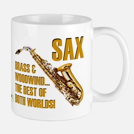 Sax - The Best of Both Worlds Mug