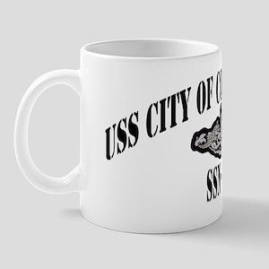 cochristi white  letters Mug