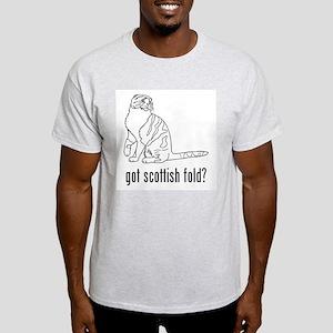 Scottish Fold Ash Grey T-Shirt