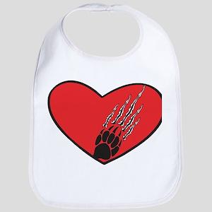 Heart Ripped Anti-Valentine Bib