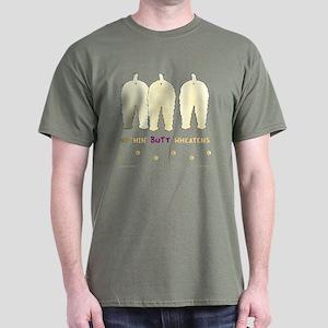 Nothin' Butt Wheatens Dark T-Shirt