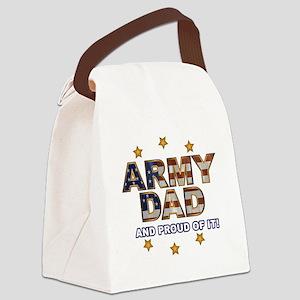 ArmyDadProud Canvas Lunch Bag
