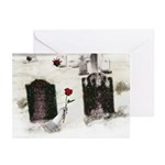 Hand Delivering Rose Greeting Cards (Pk of 10)