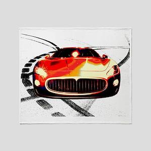 Maserati Front 2 Throw Blanket