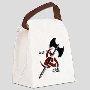 vikingaxeshirt3 Canvas Lunch Bag