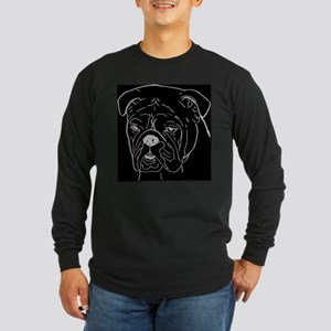 bulldogge tee Long Sleeve T-Shirt