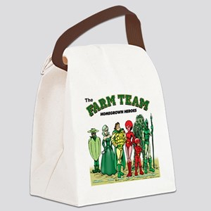 FARM_TEAM-TSHIRT Canvas Lunch Bag