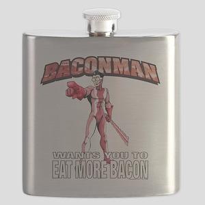 BACONMAN-TSHIRT Flask
