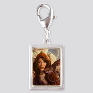Wandering Muse 14x10_framed Silver Portrait Charm