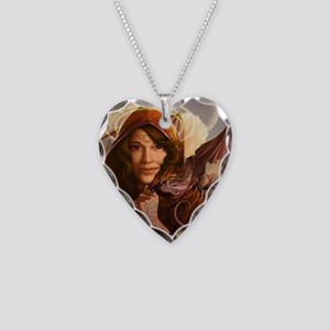 Wandering Muse 14x10_framed Necklace Heart Charm