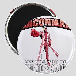 BACONMAN-TSHIRT Magnet