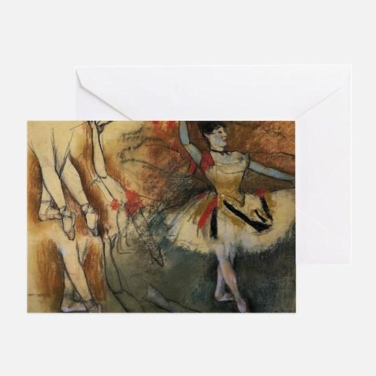 degas ballet 7 Greeting Card