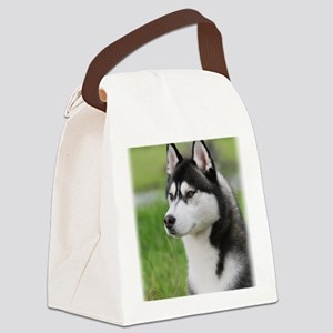 Siberian Husky 9Y570D-006 Canvas Lunch Bag