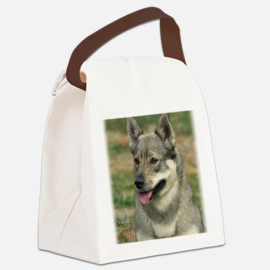 Swedish Vallhund 9J100D-11 Canvas Lunch Bag