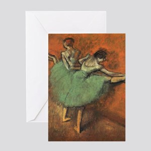 degas put on iphones Greeting Card