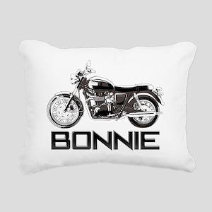 Bon 02 Rectangular Canvas Pillow