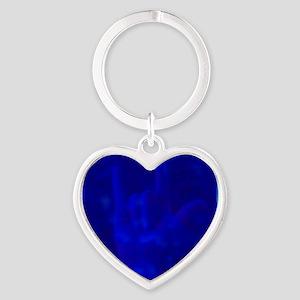 asl_coaster Heart Keychain