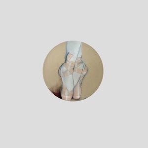 ballet shoes Mini Button