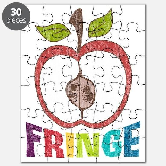Fringe-APPLE RAINBOW2-DISTRESS Puzzle
