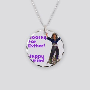 esther2 Necklace Circle Charm