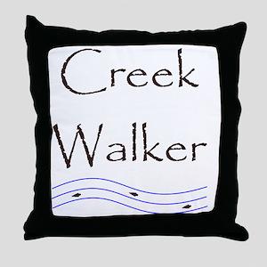 creekwalker1 Throw Pillow