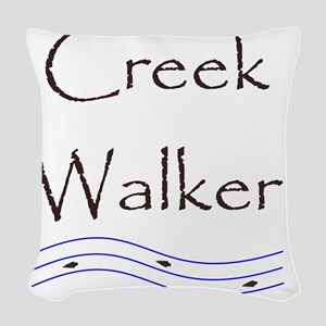 creekwalker1 Woven Throw Pillow
