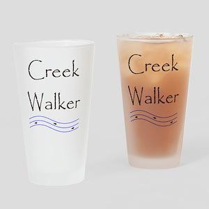 creekwalker1 Drinking Glass