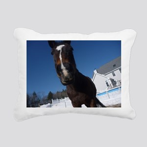 Evaire Headshot 3 Rectangular Canvas Pillow