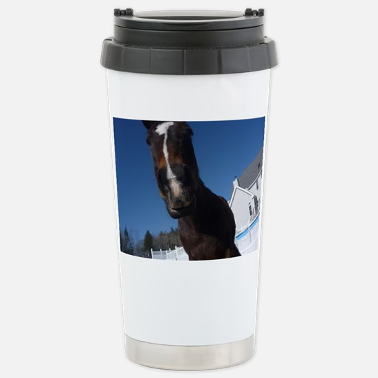 Evaire Headshot 3 Stainless Steel Travel Mug