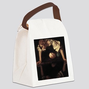 Narcissus Canvas Lunch Bag