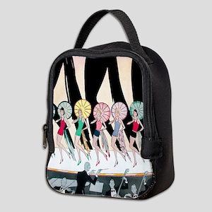 Vintage Dancing Troupe Neoprene Lunch Bag